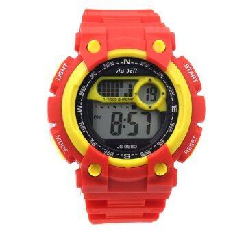 S SPORT นาฬิกาข้อมือ Unisex ได้ทั้งชายและใส่หญิง - GP9208 (Black/ Yellow)