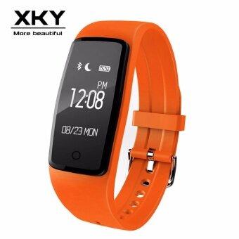 นาฬิกาอัจฉริยะ S1 สร้อยข้อมือแบบสมาร์ทบลูทู ธ กีฬากันน้ำสุขภาพเพื่อการนอนหลับดูสมาร์ทโฟนบลูทู ธ