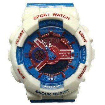 ซื้อ/ขาย Sanda SP015BL นาฬิกาสปอร์ตสีน้ำเงิน สายซิลิโคน รุ่น 292