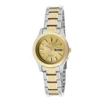 Seiko 5 นาฬิกาข้อมือผู้หญิง Automatic 21 Jewels SYMD92K1
