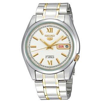 ประเทศไทย Seiko นาฬิกาข้อมือผู้ชาย 5 Automatic รุ่น SNKL57K1
