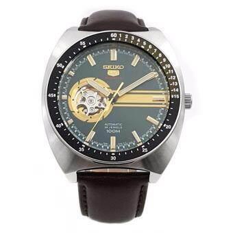 ราคา Seiko 5 Sports Men s Watch Automatic 24 Jewels Open Heart Dial SSA333K1