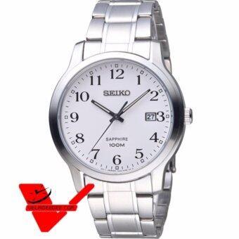 ซื้อ/ขาย Seiko Sapphire glass นาฬิกาข้อมือชาย สายสแตนเลส รุ่น SGEH67P1