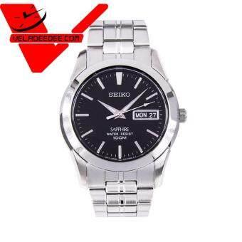 Seiko Sapphire glass นาฬิกาข้อมือชาย สายสแตนเลส รุ่น SGG715P1 - Silver