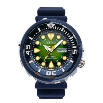 2561 Seiko นาฬิกาข้อมือผู้ชาย สายยาง รุ่น SPRA99K1 Limited Edtion Number 754/1881 - สีน้ำเงิน