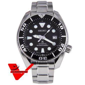 Seiko SUMO Scuba Diver MADE IN JAPAN Sport Automatic นาฬิกาข้อมือ Stainless Strap รุ่น SBDC031