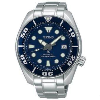 Seiko SUMO Scuba Diver MADE IN JAPAN Sport Automatic นาฬิกาข้อมือ Stainless Strap รุ่น SBDC033