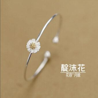 senlin s925 1507505646 29200925 a5e8868f5e075174bcc89fb5827f2082 product ซื้อ Senlin S925 ญี่ปุ่นใบงอกใบกำไลมะกอกใบ