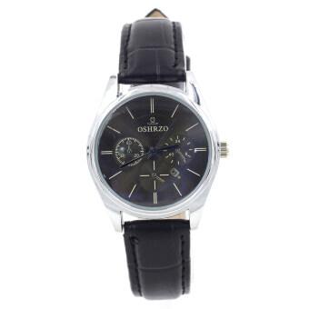 Sevenlight Date Quartz นาฬิกาข้อมือผู้หญิง ระบบวันที่ รุ่น WP8083(Black/Blue)
