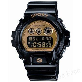 Sevenlight S SPORT นาฬิกาข้อมือ - DW6900 (Black/Gold)
