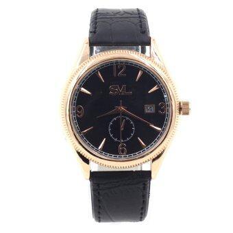 ซื้อ/ขาย Sevenlight SVL นาฬิกาข้อมือผู้ชาย ระบบวันที่ - GP9235 (Black/ Rose Gold)