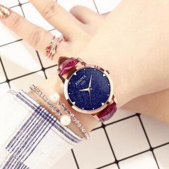 ส่องสว่างแฟชั่นกันน้ำใหม่ Shi Ying รูปแบบหญิงนาฬิกานางสาว ...