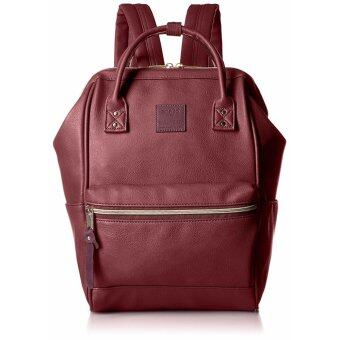 Harga 【Ship from Japan】Anello Backpack leather mouthpiece Luc smallAT-B1212 wine - intl