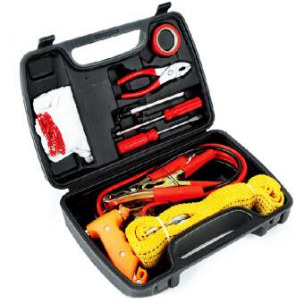 Shop108 Professional Tools ชุดเครื่องมือฉุกเฉินติดรถยนต์ อเนกประสงค์ 9 ชิ้น