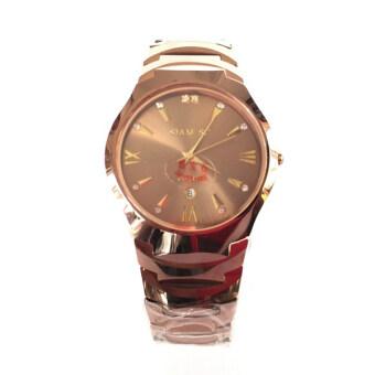 ประเทศไทย SIAM-SC นาฬิกาข้อมือผู้ชาย DiaStar Pink Gold