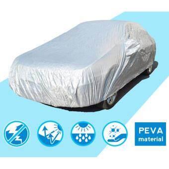 ผ้าคลุมรถ Size M สำหรับรถเก๋งขนาดกลาง Toyota Vios, Honda City,Mazda 2, Ford Fiesta