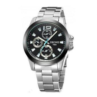 ซื้อ/ขาย SKONE นาฬิกาข้อมือผู้ชาย รุ่น SKB7063 (Black)