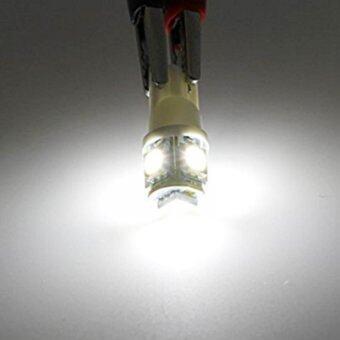 หลอดไฟหรี่ SMD แท้ ความสว่างสูง ขั้ว T10 2 คู่ (สีขาว) แถมฟรี 1 คู่ (image 1)