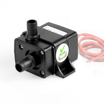 Solar Electric Ultra-quiet Mini DC Brushless Motor SubmersibleWater Pump 12V / 240L/H / 4.5w - intl