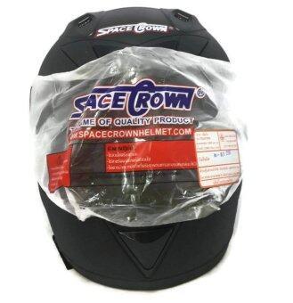 รีวิว Space Crown หมวกกันน็อค รุ่น Fighter (สีดำด้าน)