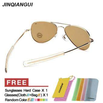 af8f2a57b61 ... Sunglasses Men Pilot Sun Glasses Brown Color Brand Design - Intl - 3