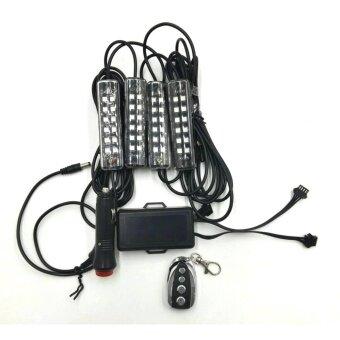 ซื้อ Superrich ไฟตกแต่งรถยนต์ ไฟส่องเท้า ใช้ได้กับทุกรุ่น (universal)