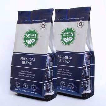 กาแฟคั่วบด SUZUKI COFFEE Premium Blend + Premium Blend