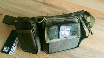 ประกาศขาย The Tank กระเป๋าคาดเอว Cordura เอนกประสงค์ กระเป๋าคู่ใจกระเป๋าขาลุย (สีเขียว)