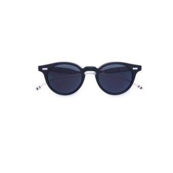 Thom Browne Men 's Sunglasses Round Folded Retro 1227ff08509 - intl