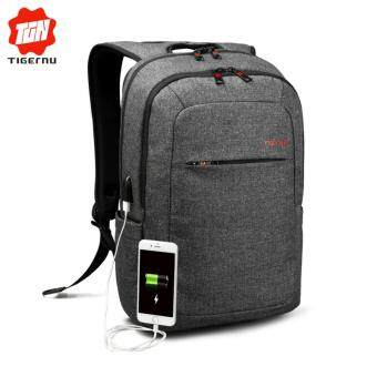 Tigernu Anti-thief Light Weight Backpack With USB Charging Port For12-15inches Laptop3090USB - intl