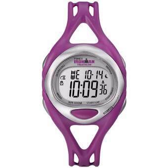 Timex Ironman นาฬิกาข้อมือผู้หญิง รุ่น T5K759 - Silver/Pink