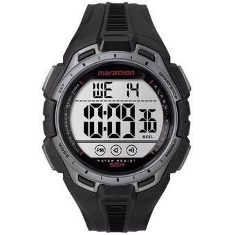 ราคา Timex Marathon นาฬิกาข้อมือผู้ชาย รุ่น TW5K94600 - Silver/Black