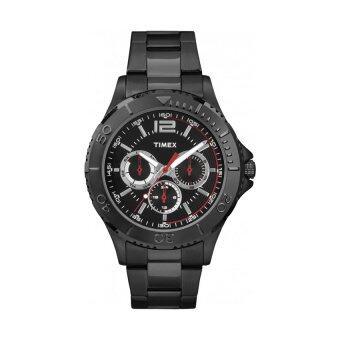 Timex นาฬิกาข้อมือผู้ชาย รุ่น Taft Street Multifunction TW2P87700 (สีดำ)