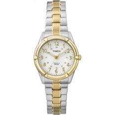 Timex นาฬิกาข้อมือผู้หญิง รุ่น TW2P89000 Easton Avenue (สีเงิน – ทอง)