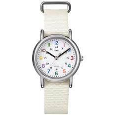 Timex Weekender นาฬิกาข้อมือผู้หญิง รุ่น T2N837 - White