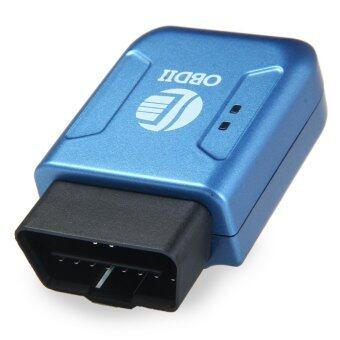 TK206 รถ OBDII เอสอินเตอร์เฟซ GPRS แกะรอยกับจีโอรั้วฟังก์ชัน (สีน้ำเงิน)