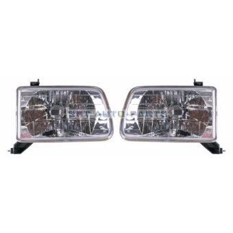 โคมไฟหน้าโตโยต้า ไทเกอร์ TOYOTA / Hilux Tiger 1999 - 2001/ Headlamp (ราคาต่อ 1 คู่) ไม่รวมหลอด