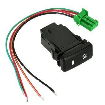 การถอดสวิตช์กดด้วยทำขับแสงโคมสวิตซ์ไฟหมอกแถบสำหรับ Toyota VIGO (image 2)
