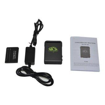 UINN Portable GPS Tracker TK102B GPS SMS GPRS SOS For IosAppW/Remote Control black 1# - intl - 4