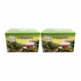 UMB Sacha inchi Herbal Tea ชาสมุนไพรถั่วดาวอินคาชนิดกล่องบรรจุ 20ซอง 2 กล่อง