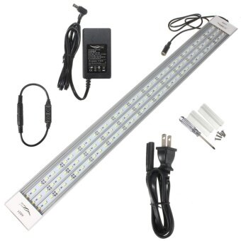 US Plug A601 39W 60cm 117smd fish tank light 5800lm LED aquatic light Pure White Aquatic Aquarium 5730 LED Light Lamp Chihiros A-Series - intl