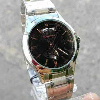 ประเทศไทย us submarine 100% นาฬิกาข้อมือผู้ชาย สายสแตนเลส