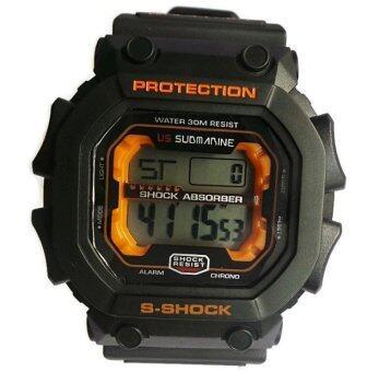 ซื้อ/ขาย US Submarine นาฬิกาข้อมือดิจิตอล MN.TP1280M (Black/Orange)