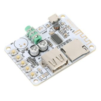 USB DC 5V BT 2.1 Audio Receiver Board Wireless Stereo Music Module with TF Card Slot