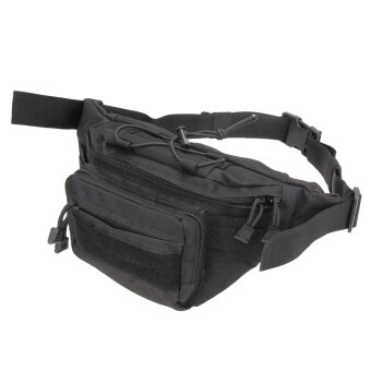 Utility Tactical Waist Pack Pouch Military Camping Hiking Black - intl