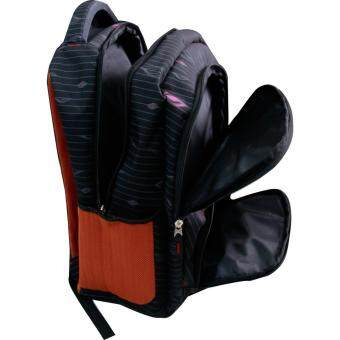 Van Burgh กระเป๋าเป้ กระเป๋าสะพายหลัง กระเป๋าเป้เดินทาง กระเป๋าโน๊ตบุ๊ค 18 นิ้ว รุ่น FEINIAO - A (สีดำ) - 5