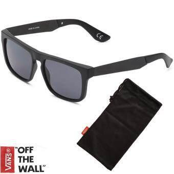 VANS แว่นกันแดด SQUARED OFF รุ่น VN-00007EBKA สีดำ (MATTE BLACK/METAL ARMS)