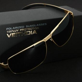 VEITHDIA เลนส์แว่นตาแว่นตากันแดดขับรถสุขารถสนามแม่เหล็กแว่นตาแว่นกันแดดอุปกรณ์ประมงสำหรับผู้ชาย 2490 (Gray/สีเทา)