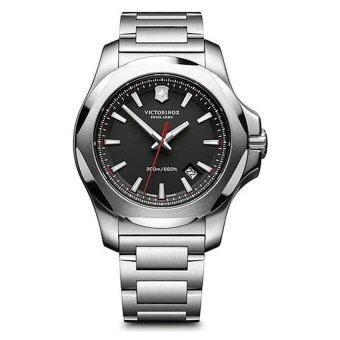 Victorinox Men's 'I.N.O.X.' Swiss Quartz Stainless Steel CasualWatch, Color:Silver-Toned (Model: 241723.1) (Intl) (Intl)
