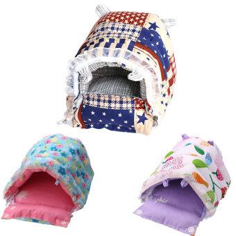 ต้องการขายด่วน Washable Small Pets Warm Cotton Home Nest 140 x 130 x 100mm (ColorRandom)